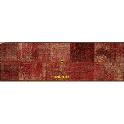 Patchwork Vintage rosso 200x60