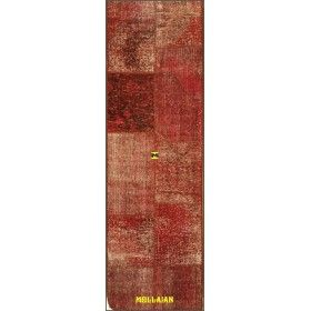 Red Patchwork Vintage 200x60