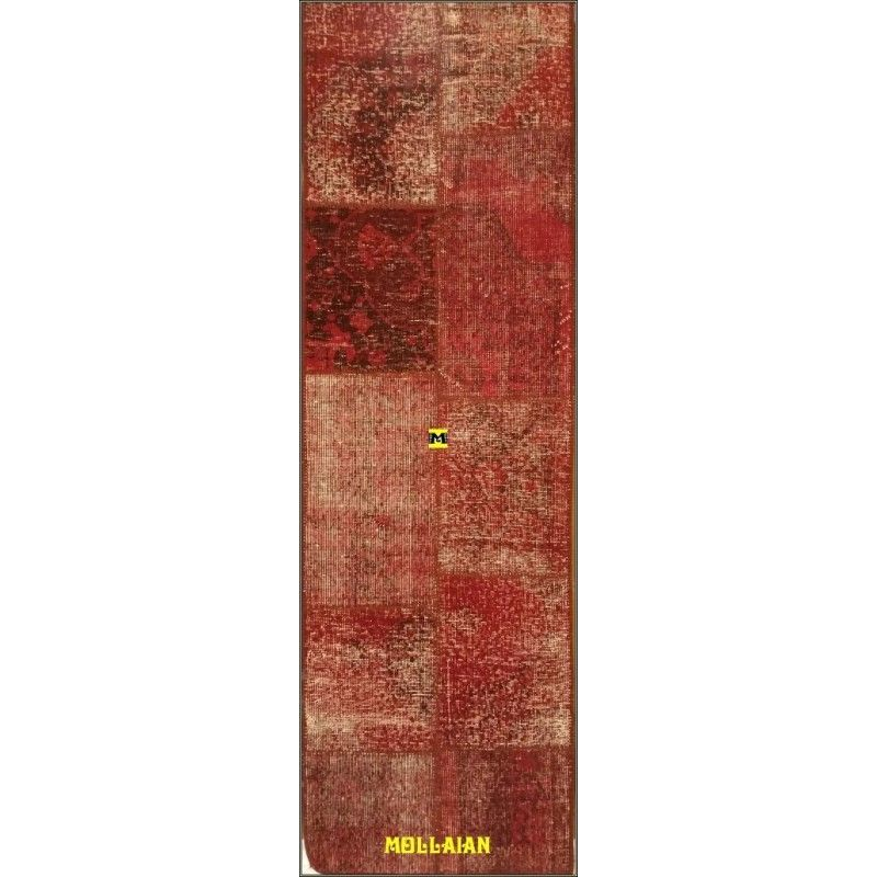 Patchwork Vintage rosso 200x60