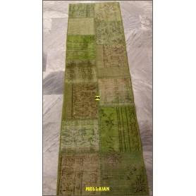 Patchwork Vintage verde  200x60