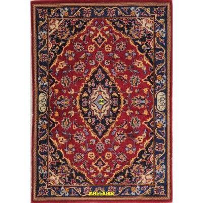 Kashan Bedside carpet Persia 99x68-Mollaian-Bedside-Rugs-Bedside carpets-Kashan-9845-395,00€-Sale--50%