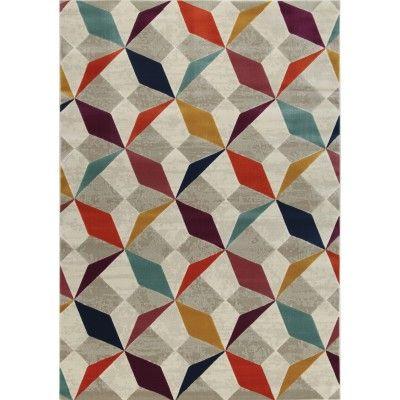 Girard 2 Multi-Mollaian-Contemporary-Economic-Rugs-Contemporary Modern carpets-Girard-25615-115,00€-Sale-