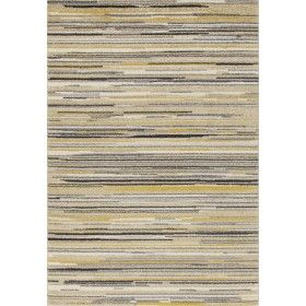 soave stripe cream yellow carpet