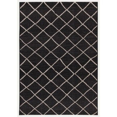 Veranda c Black silver Mollaian rugs