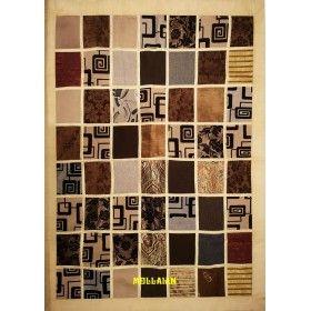 Arazzo Copri-tavolo Patchwork Beige Chiaro 200x150