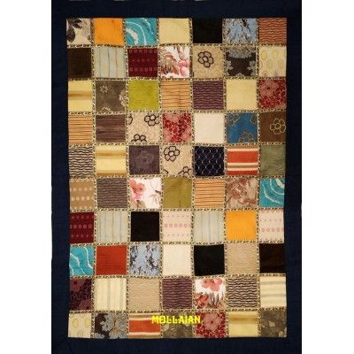 Tapestry Table cover Patchwork Blue