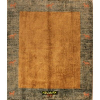 Gabbeh Ziegler gold 196x174 Mollaian carpets 6992 Mollaian Sold Carpets - Sold Items - No longer available. -50% 0,00€ Molla...