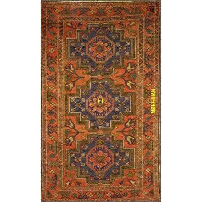 Ancient Derbent Azerbaijan 237x140-Mollaian-Antique-Rugs-Antique carpets-Derbent-old-carpet-0279-2.450,00€-Sale--50%