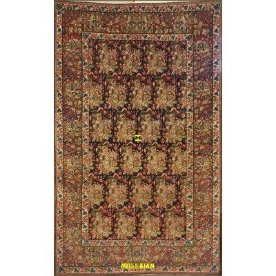 Antique persian Kerman 219x138-Mollaian-Antique-Rugs-Antique carpets-Kerman - Kirman-old-carpet-0292-3.600,00€-Sale--50%