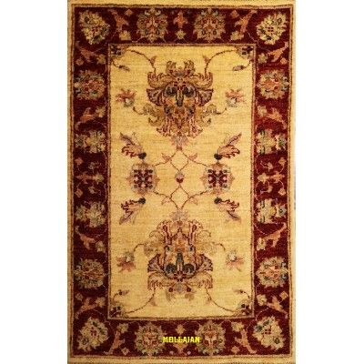 Scendiletto Sultanabad extra gold 92 x 62 Mollaian rugs