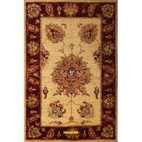 scendiletto soltanabad beige chiaro 90x60 mollaian rugs