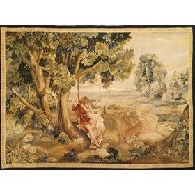 Aubusson tapestry 170x124