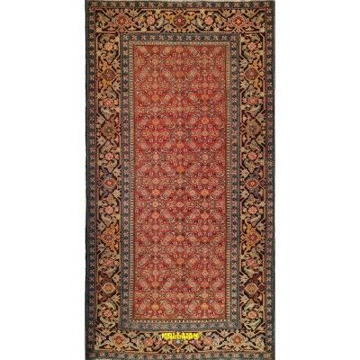 Antique Karabagh Azerbaijan 275x143 Mollaian carpets 5290 Mollaian Rugs - Sold out - Sold Items - No longer available. -50% 0...