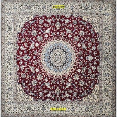 Nain 9 line Persia 254x250-Mollaian-Classic-Rugs-Classic carpets-Nain-6464-4.250,00€-Sale--50%