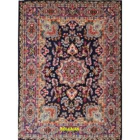 Kerman Persian rug blue light blue 200x148 Mollaian rug