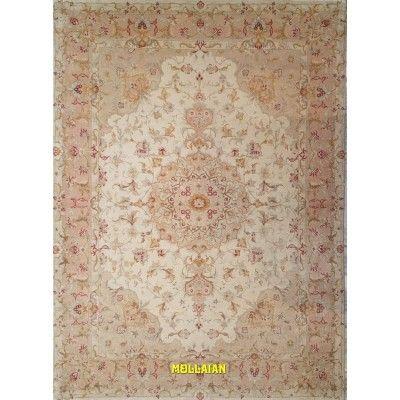 Tabriz 60R extra fine Persia 205x146-Mollaian-Classic-Rugs-Classic carpets-Tabriz-3627-2.950,00€-Sale--50%