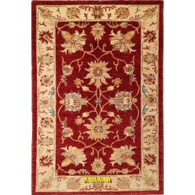 Tappeto moderno classico Soltanabad bordeaux 158x103 Mollaian rugs