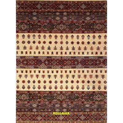 Khorgin Uzbeck 251x182 Mollaian tappeti 12506 Tappeti Geometrici -50% 0,00€ Khorgin Gabbeh