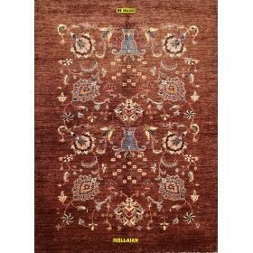 tappeto-moderno-marrone-ariana-248x176-Mollaian-rugs