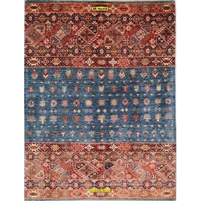 Khorgin Uzbeck 212x160 Mollaian carpets 13003 Geometric design Carpets -50% 1.250,00€ Geometric design Carpets