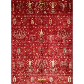 modern-red-Ariana-heriz-carpet-248x180-Mollaian-rugs