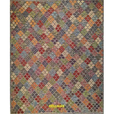Kilim Kaudani Melange 244x201 Mollaian carpets 12894 Kilim -Sumak -50% 0,00€ Kilim -Sumak