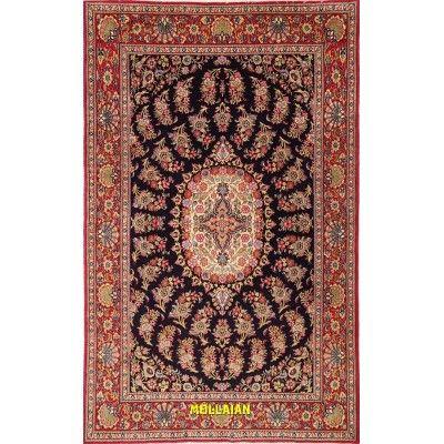 Qum Kurk Persia 242x150-Mollaian-Classic-Rugs-Classic carpets-Qum - Ghom-0869-1.375,00€-Sale--50%