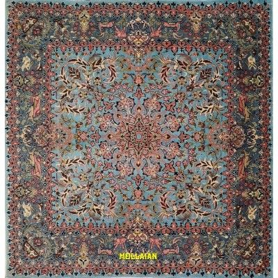 Qum fine Persia 200x200 Mollaian carpets 1251 Mollaian Rugs - Sold out - Sold Items - No longer available. -50% 0,00€ Mollai...