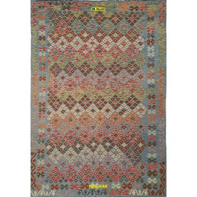 Kilim Vaziri Melange 252x175-Mollaian-Tappeti-Grandi-dimensioni-Tappeti Grandi-Kilim - Kaudani - Vaziri - Herat-13079-0,00€-...