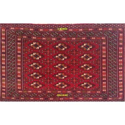 Bukara Poshti Vintage Persia 95x59 Mollaian carpets 12943-9 Mollaian Rugs - Sold out - Sold Items - No longer available. -50%...