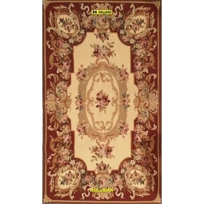 Aubusson 155x90-Mollaian-rugs-Aubusson and Tapestries-Aubusson-geometrico-2545-275,00€-Sale--50%