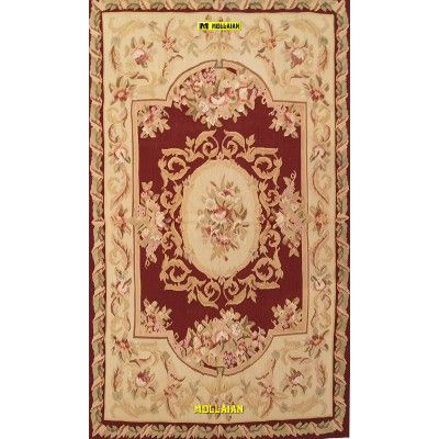 Aubusson 155x91-Mollaian-rugs-Aubusson and Tapestries-Aubusson-geometrico-1471-275,00€-Sale--50%