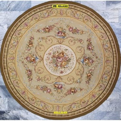 Aubusson 245x245-Mollaian-rugs-Aubusson and Tapestries-Aubusson-geometrico-1468-1.250,00€-Sale--50%