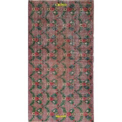 Yuruk Vintage 191x101 Wisteria-Mollaian-Patchwork-Vintage-Rugs-Patchwork Vintage carpets-Vintage-11075-325,00€-Sale--50%