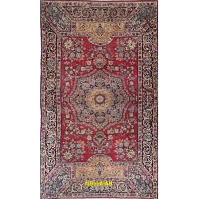 Antique persian Kerman 220x131 Kerman - Kirman Mollaian Antique rugs 2745 Kerman - Kirman 5.900,00€ -50%