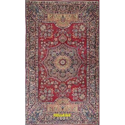 Kerman antico Persia 220x131-Mollaian-Tappeti-Antichi-Tappeti Antichi-Kerman - Kirman-Old-Carpet-2745-2.950,00€-saldi--50%