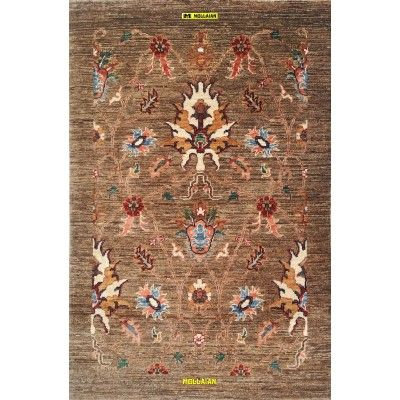 Ariana extra gold 120x80-Mollaian-Gabbeh-Contemporary-Rugs-Gabbeh and Modern Carpets-Ariana-13550-395,00€-Sale--50%