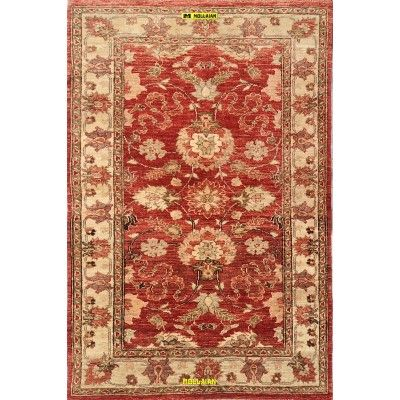 Sultanabad extra gold 142x 91-Mollaian-Gabbeh-Contemporary-Rugs-Gabbeh and Modern Carpets-Sultanabad - Soltanabad-6705-375,00...