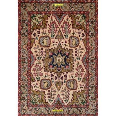 Old Tabriz 30R Persia 140x95 Mollaian carpets 8195 Mollaian Rugs - Sold out - Sold Items - No longer available. -50% 0,00 € M...