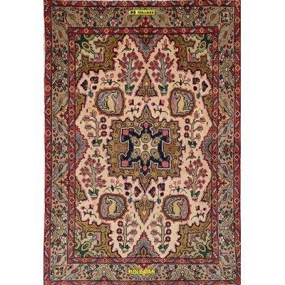 Tabriz d'epoca 30R Persia 140x95 Mollaian tappeti 8195 Mollaian Online - Tappeti Venduti - Tappeti non più Disponibili - Tapp...