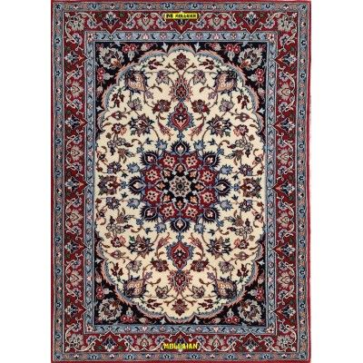 Isfahan Extra Fine Silk Persia 100x73 Mollaian carpets 6103 Bedside carpets -50% 1.025,00€ Bedside carpets