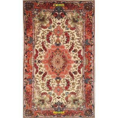 Tabriz 60R extra fine Persia Silk 120x72-Mollaian-Bedside-Rugs-Bedside carpets-Tabriz-3321-950,00€-Sale--50%