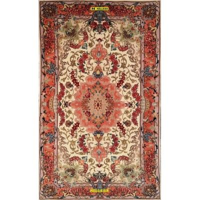 Tabriz 60R extra fine Seta Persia 120x72-Mollaian-Tappeti-Scendiletto-Tappeti Scendiletto-Tabriz-3321-950,00€-Saldi--50%