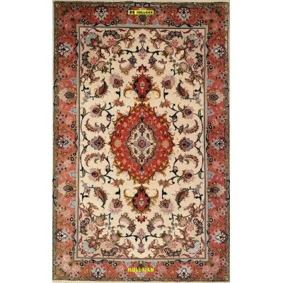 Tabriz 60R extra fine Persia Silk 125x77-Mollaian-Bedside-Rugs-Bedside carpets-Tabriz-7607-1.200,00€-Sale--50%