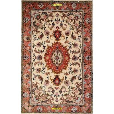 Tabriz 60R extra fine Seta Persia 125x77 Mollaian tappeti 7607 Tappeti Scendiletto -50% 1.200,00€ Tabriz
