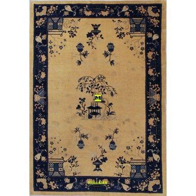 Beijing - Pechino Cina 263x180-Mollaian-Tappeti-Antichi-Tappeti Antichi-Beijing - Pechino-Old-Carpet-6897-2.450,00€-saldi--50%