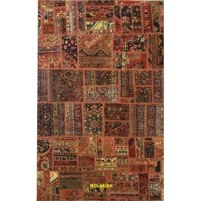 Natural patchwork vintage persia 284x192 Mollaian carpets 12000 Mollaian Rugs - Sold out - Sold Items - No longer available. ...